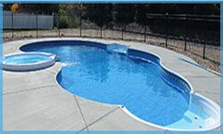 freeform pool shape