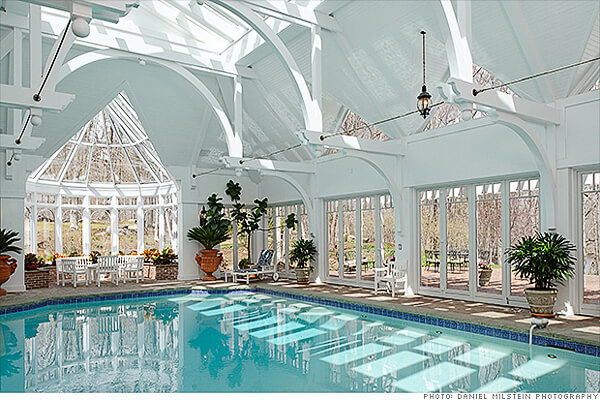 21 lavish celebrity swimming pools intheswim pool blog Square swimming pools for sale