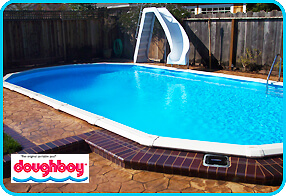 Deep Above Ground Pools installing an expandable pool liner | intheswim pool blog