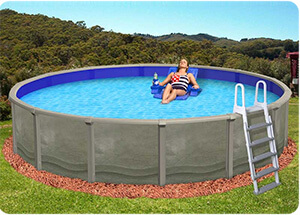 Above Ground Pool Edging Ideas photos galery of how to install above ground pool Aboveground Pool Maintenance