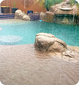 Heavy Rains Swimming Pools Intheswim Pool Blog