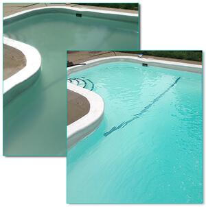 Inground pool opening part ii intheswim pool blog - How long after pool shock before swim ...