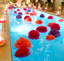 pool decorations | decorating ideas