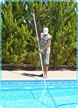 how to clean and maintain a pool
