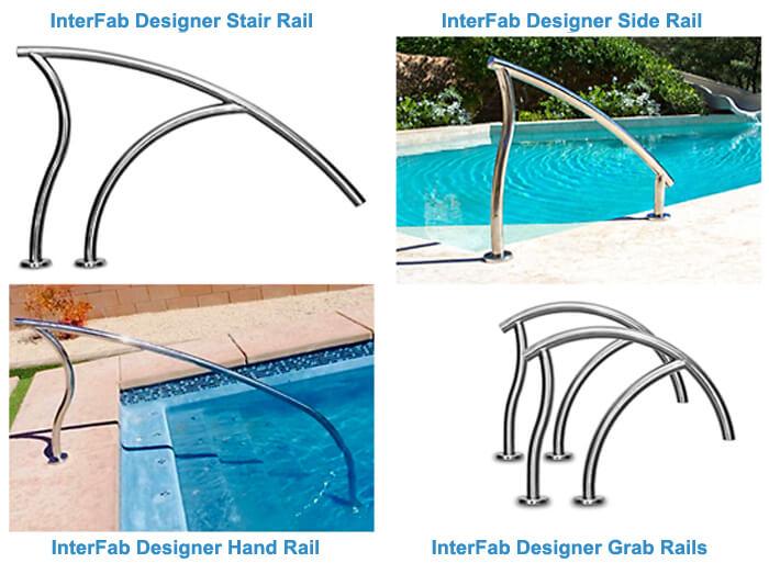 Designer Pool Ladders & Rails | InTheSwim Pool Blog