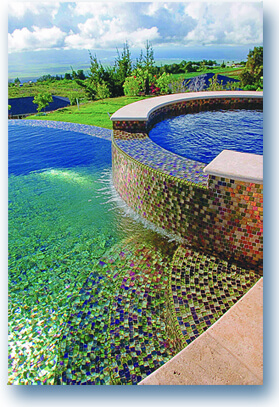 Beautiful Tile Pool Image Maui Pool By West Side Tile