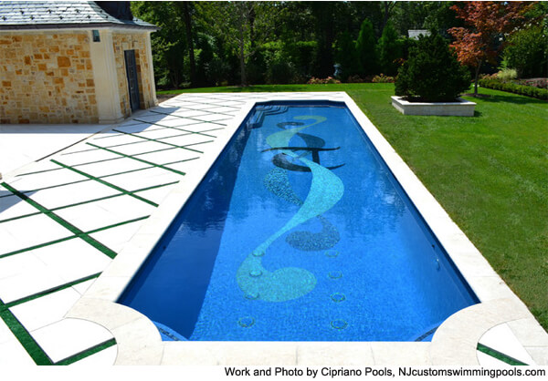 Swimming Pool Mosaic Tile Ideas InTheSwim Blog