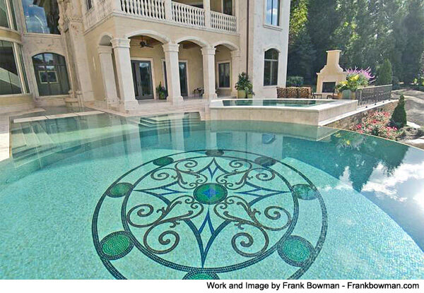 Swimming pool mosaic tile ideas intheswim pool blog for Pool design blog