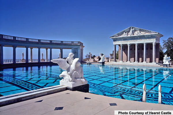 25 amazing resort pools in california intheswim pool blog - Hearst castle neptune pool swim auction ...