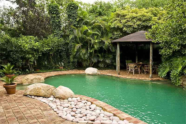 Image via casaydiseno.com. Pool Design Style: Jungle