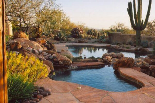 Image via Houzz.com Pool Design Style: Desert