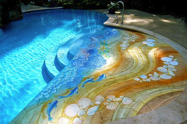 Image via homedesignlover.com Pool Design Style: Coastal
