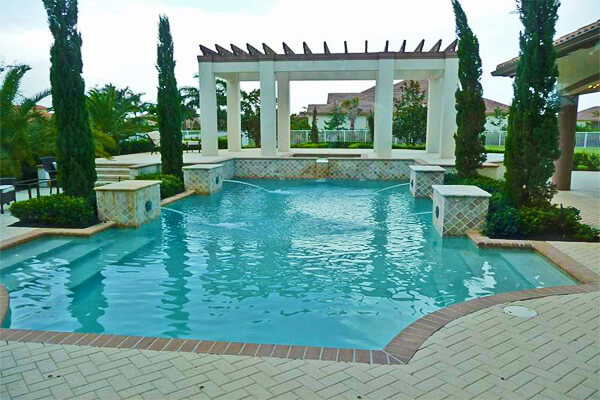 Image via activerain.com. Pool Design Style: Mediterranean