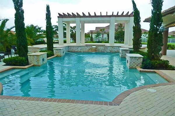 Superior Pool Design Style: Mediterranean