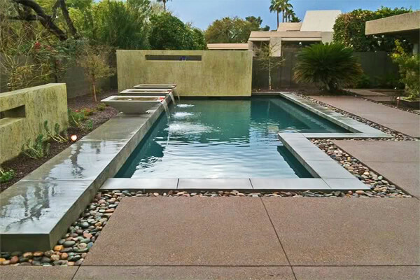 Waterscapes by Bianchi Design. Pool Design Style: Modern