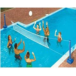 Pool water sports games intheswim pool blog for Pool design for volleyball