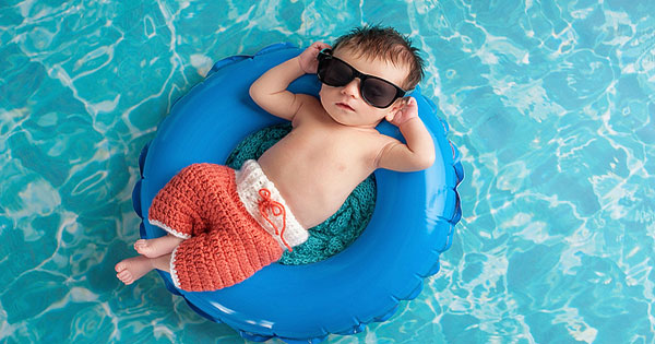 Baby's First Swim | InTheSwim Pool Blog