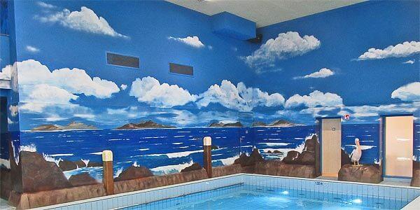 21 Swimming Pool Wall Mural Ideas Intheswim Pool Blog