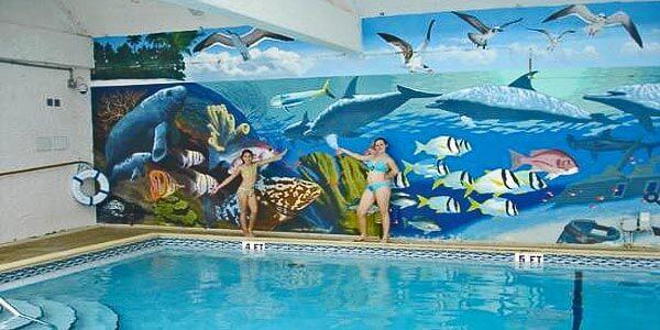21 Swimming Pool Wall Mural Ideas | InTheSwim Pool Blog