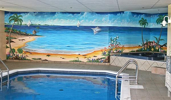 21 Swimming Pool Wall Mural Ideas InTheSwim Pool Blog