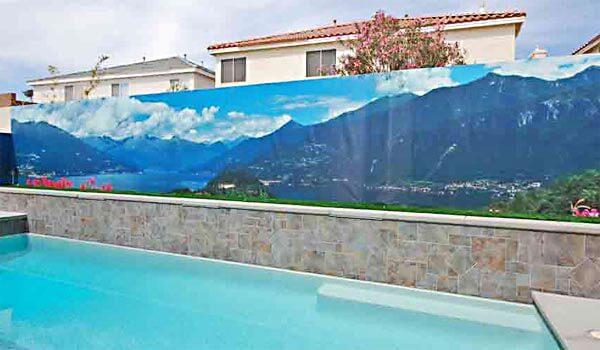 Vinyl Pool Wall Mural