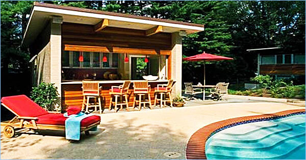 Add A Pool Bar For Perfect Backyard Entertaining Intheswim Pool Blog