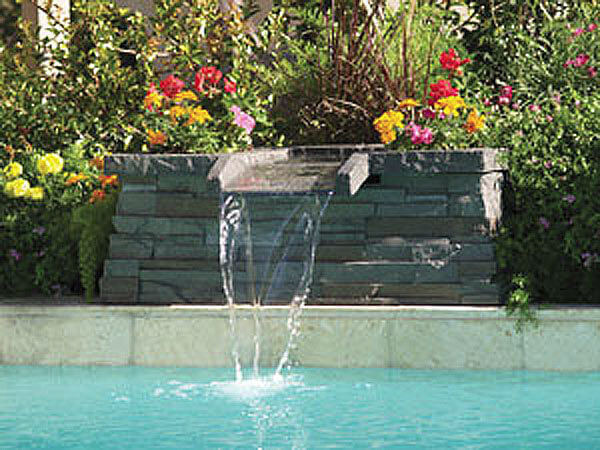 Swimming Pool Fountains : Small pool water features intheswim
