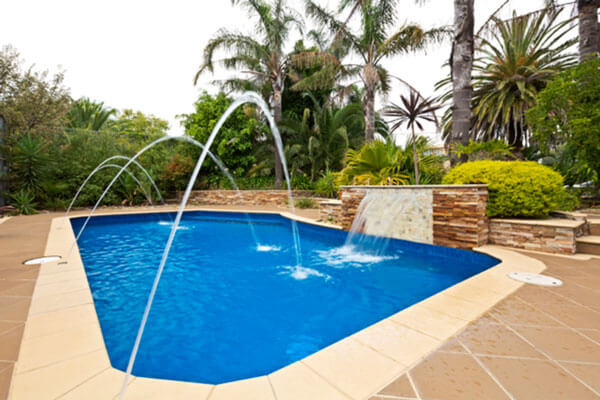 Small pool water features intheswim pool blog for Pool designs victoria