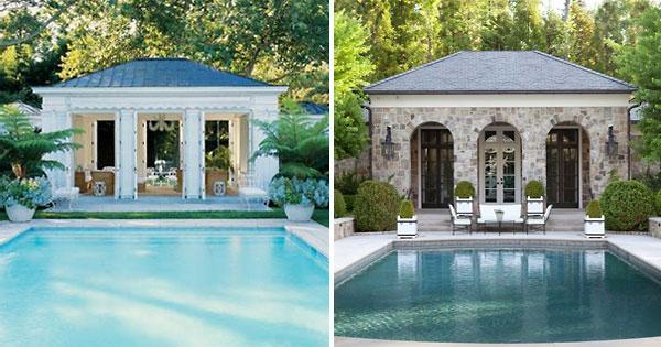 Cool Swimming Pool Cabanas Intheswim Pool Blog