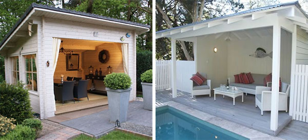 Cool Swimming Pool Cabanas Intheswim Pool Blog