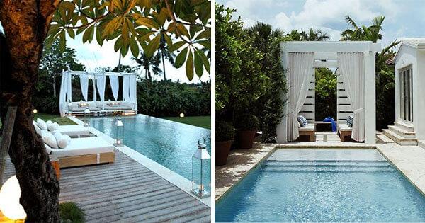 Cool Swimming Pool Cabanas | InTheSwim Pool Blog on Small Pool Cabana Ideas id=23182