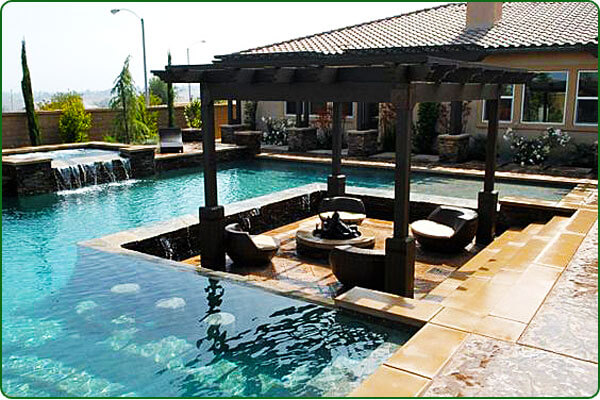 The perfect pool or a guy s dream pool intheswim pool blog for Pool design with swim up bar