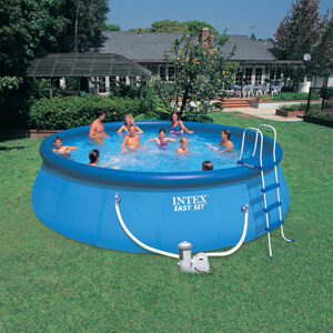 Intex 18Ft. Round Easy Set Pool