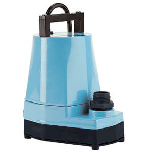 Little Giant Wizard Submersible Pump for Draining Pools
