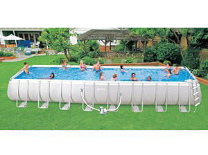 Intex Ultra Frame Above Ground Pools