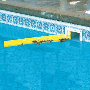 Skim-It pool skimmer arm shown