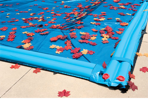 Leaf catchers are easy to install on inground pools and prevent leaves from getting into your pool water. This is an ideal accessory to have if your hand has many trees.