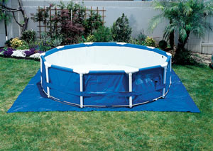 Inflatable Pool On Concrete
