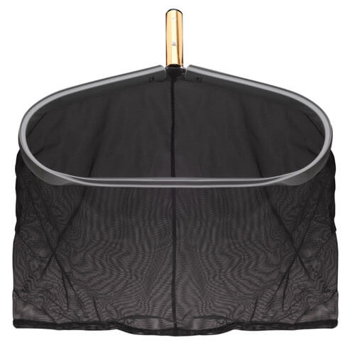 This pro-strength leaf net will remove a lot of leaves and other debris from your pool very quickly. Its wide opening helps you grab larger items while the quality construction provides durable, reliable use.