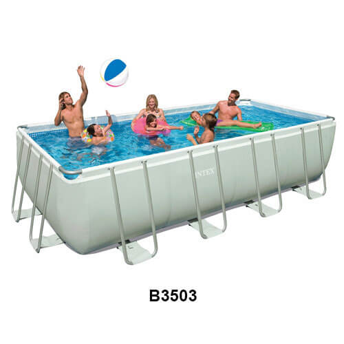 intex ultra frame pool from intheswimcom provides a large swimming area that is easy - Intex Pools