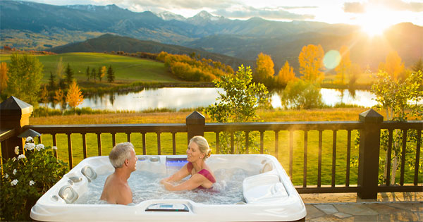 Hot Tub Health Benefits, image by Sundance