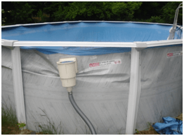 Above ground pool freeze damage image intheswim pool blog - Bonding an above ground swimming pool ...