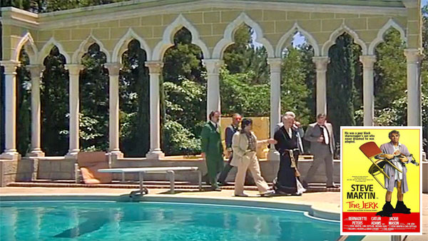 Steve Martin in The Jerk, Pool Scene where Navin Beats the Racists