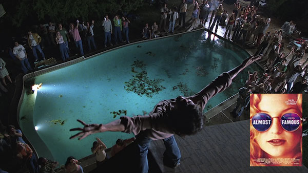 "Billy on the Roof top yells ""I am a Golden God"", before jumping into the pool"