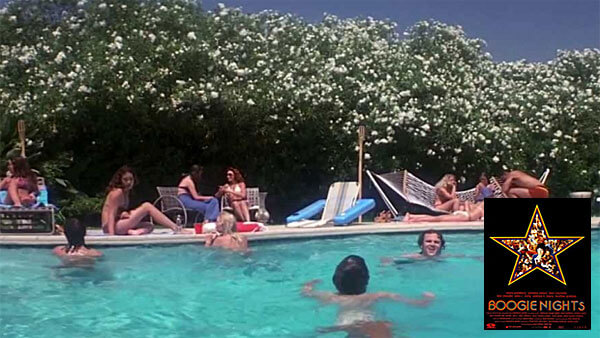 Boogie Nights movie pool scene