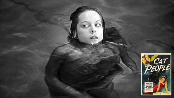 Cat People 1942 movie featuring pools