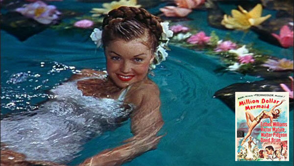 Esther Williams Million Dollar Mermaid movie