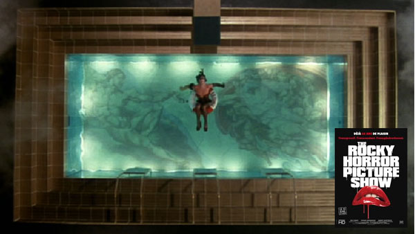 Rocky Horror Picture Show pool scene