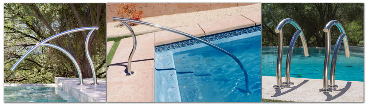 Swimming Pool Ladder and Handrail Upgrades | InTheSwim Pool Blog