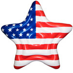 Americana Star Island pool float